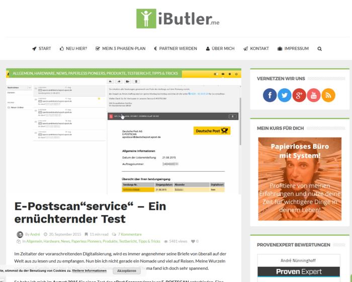 Daten-Websites für Hochverdiener