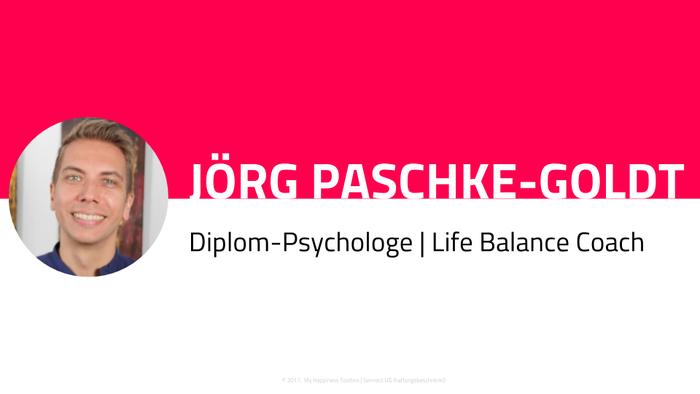 Profilbild Diplom-Psychologe Jörg Paschke-Goldt, Life Balance Coach, Online-Kurs-Trainer