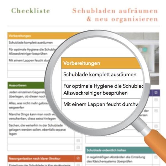 Checkliste Haushalt Haushaltsfee | elopage