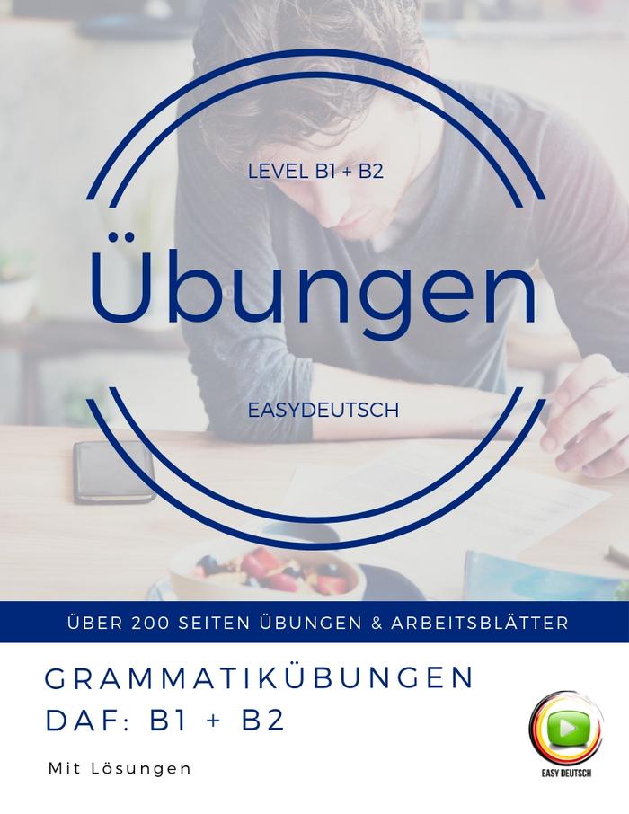 Grammatik übungen B1 B2 Easydeutsch Elopage
