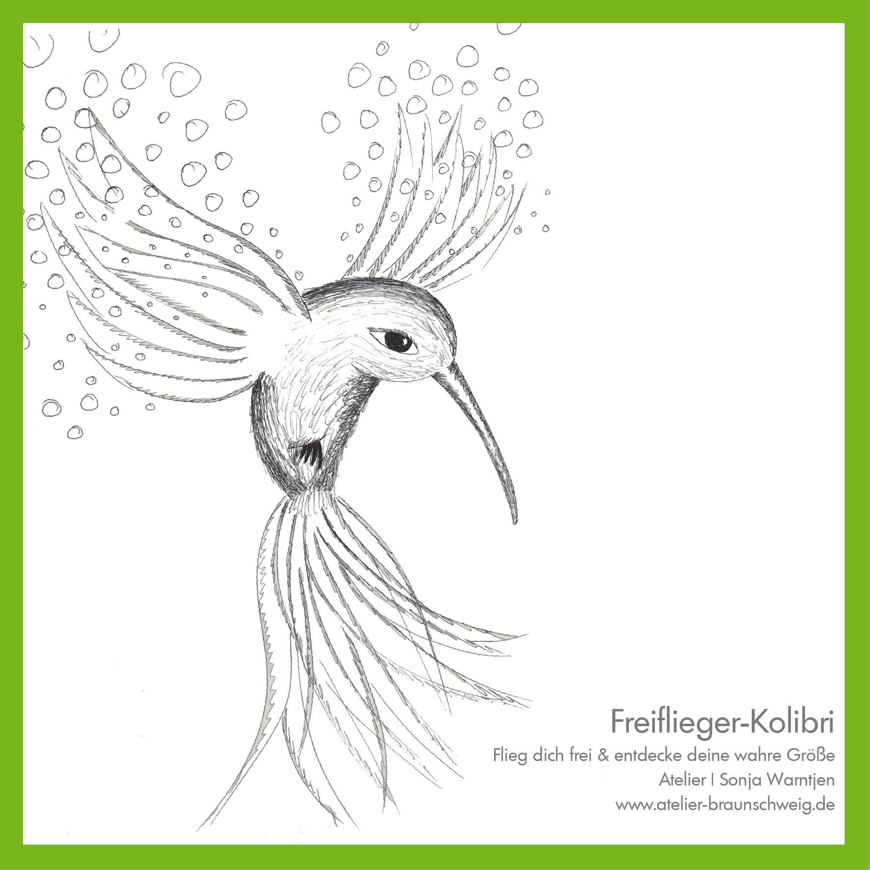 """Kolibri """"Freiflieger"""" - Sonja.Warntjen  elopage"""