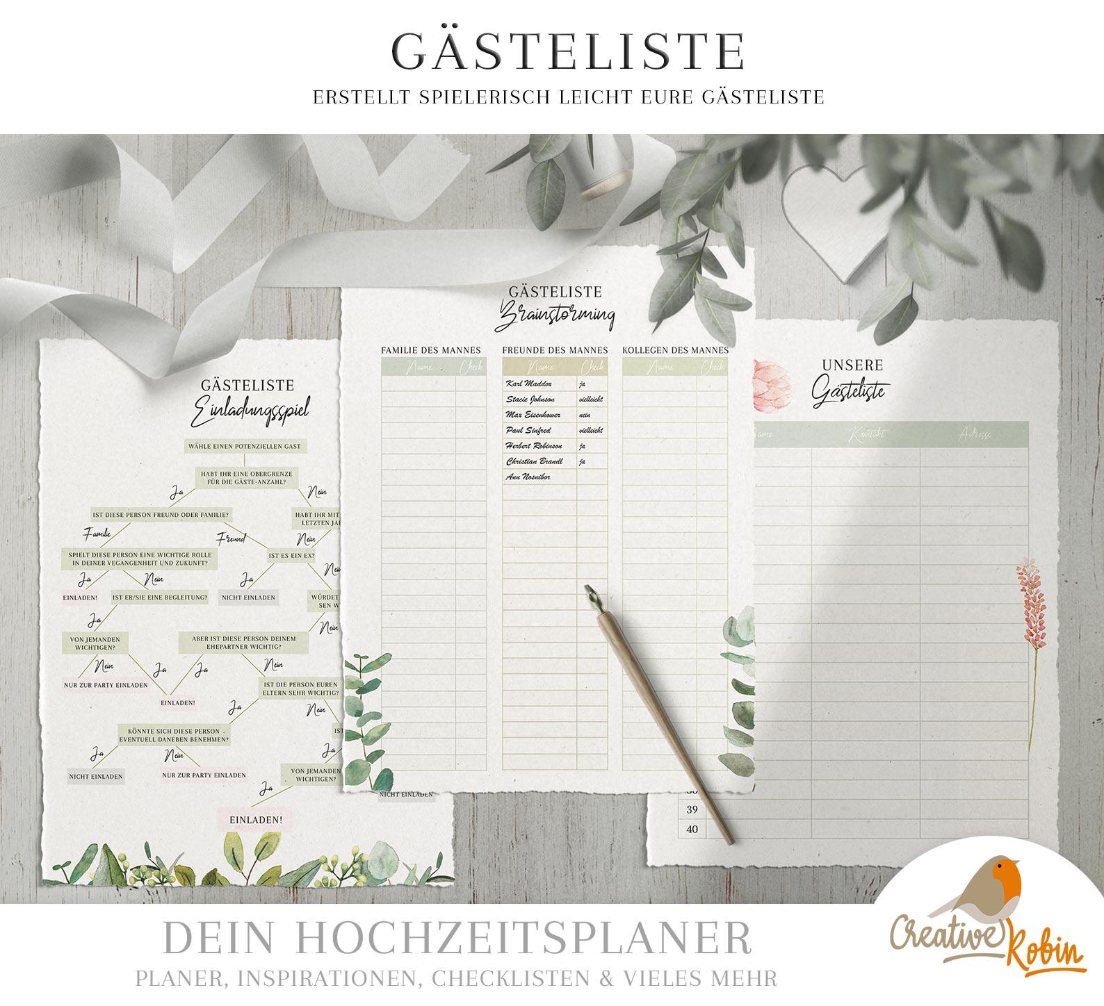 3 Hochzeitschecklisten Kostenlose Planer Zum Download
