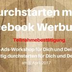 Copy of durchstarten mit facebook werbung