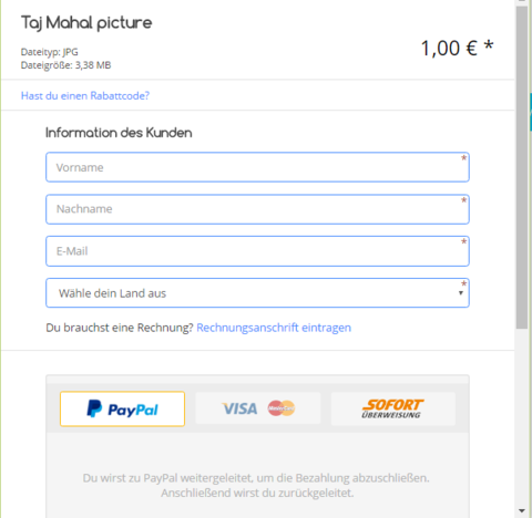 Embedd checkout  feature