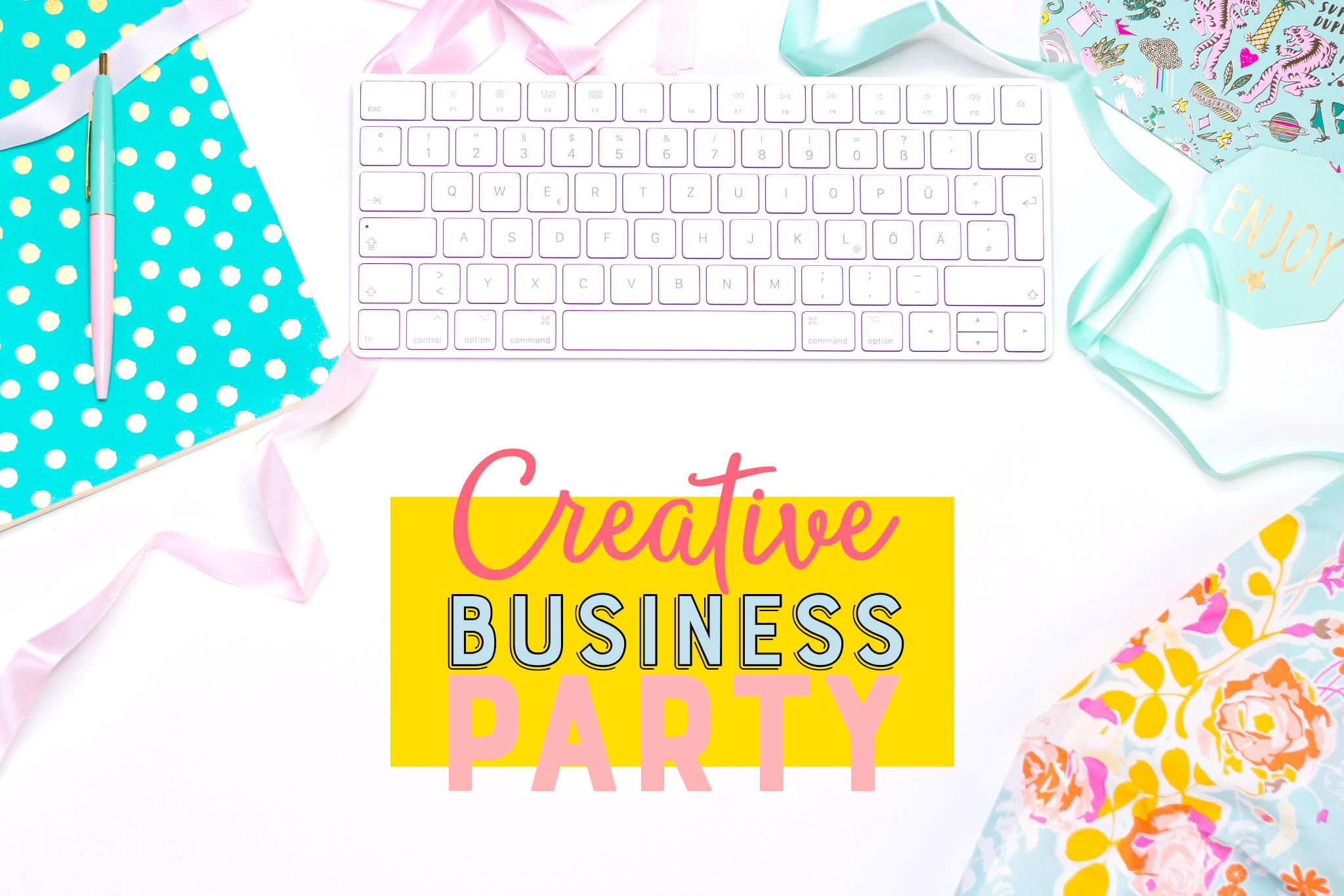 Creative business party flatlay johanna fritz