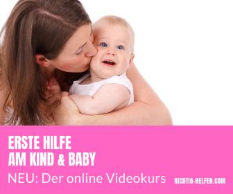 Erste Hilfe am Kind und Baby Kurs