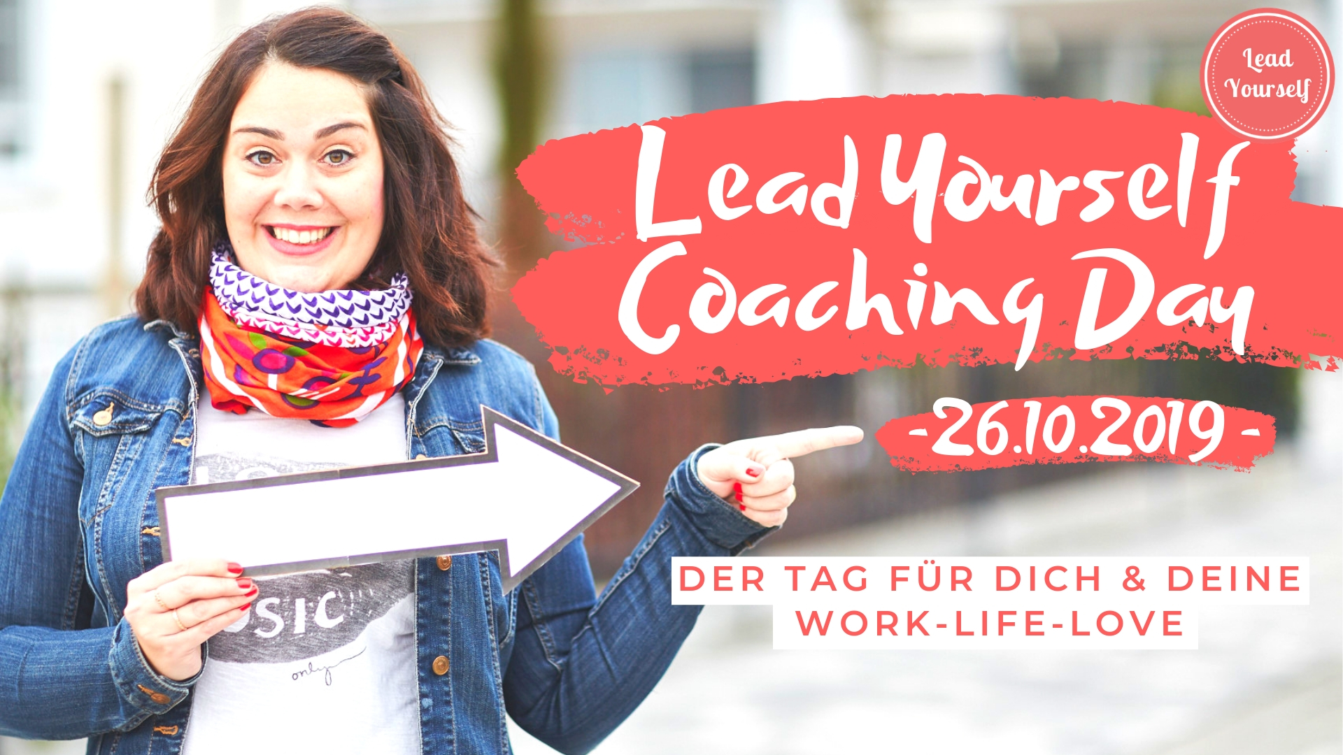 Lead yourself coaching day 2019 cover